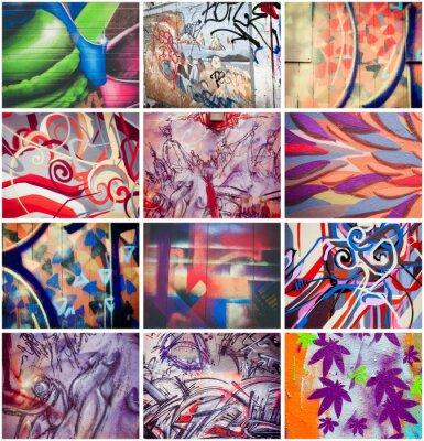 Bild Graffitis colorés