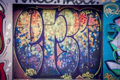 Bild Graffitis couleurs pétantes