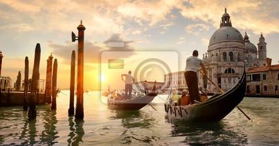 Bild Grand Canal bei Sonnenuntergang