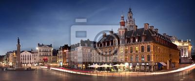 Bild Grand place de Lille en Debüt de Soirée - Frankreich
