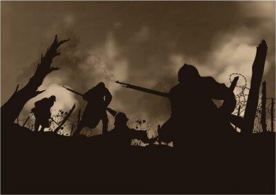 Bild Grande Guerre 14-18 - Tranchée
