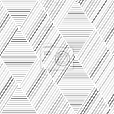 Graue und braune Linien Nahtlose Muster
