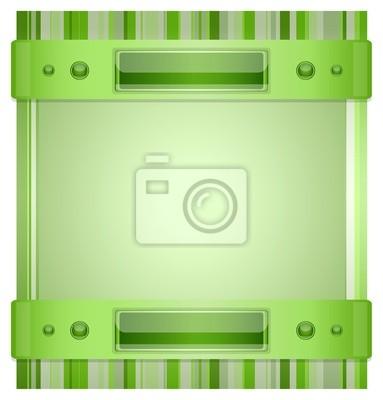 Gray - grünen Hintergrund mit Layout. Abbildung 10 Version