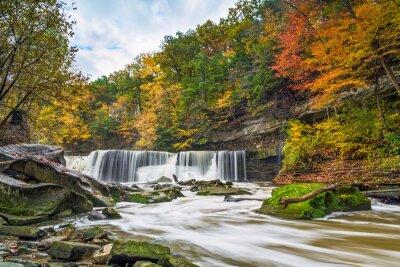 Bild Great Falls mit Groß Farbe