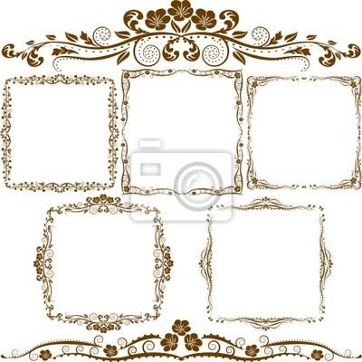 Bild Grenze Ornamente