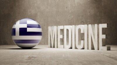 Griechenland. Medizin-Konzept.