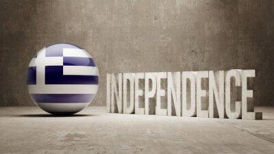 Griechenland. Unabhängigkeitskonzept.