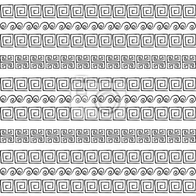 Griechische Muster Stock Illustrationen Vektoren 1