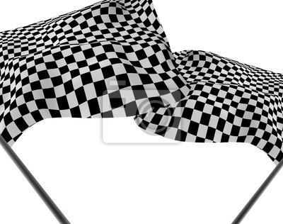 Große Checkered Flag