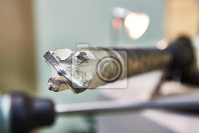 Loch In Beton Bohren Finest Bohrloch In Beton Mit Bohrhammer With