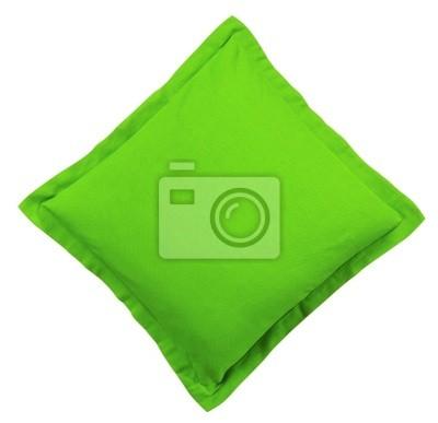 Bild Grün Kissen - isoliert