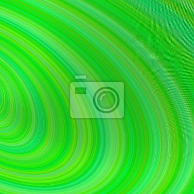 Grüne abstrakte gebogenen Hintergrund