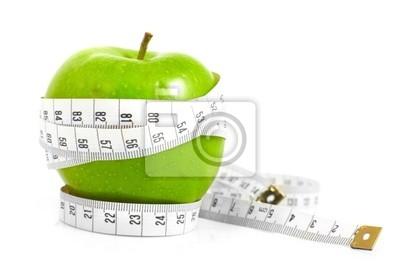 Bild Grüne Äpfel gemessen der Zähler-, Sport-Äpfel