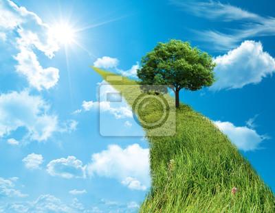grüne Konzept