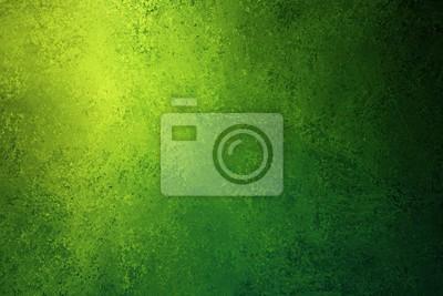Bild grüne und gelbe Hintergrundbeschaffenheit mit beunruhigtem Weinleseschmutz und glänzendem Scheinwerfereckdesign