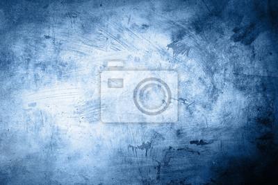 Bild Grunge blauen Hintergrund