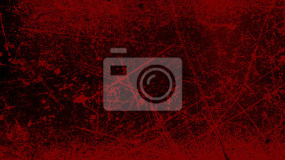 Bild grunge halloween background with blood splash space on wall