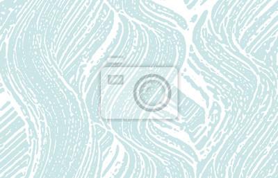 Bild Grunge texture. Distress blue rough trace. Bewitch