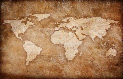 Bild Grunge Welt Karte Hintergrund
