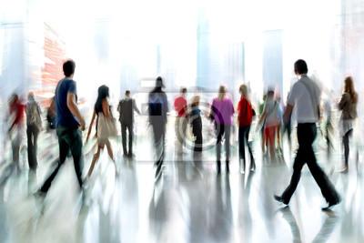 Bild Gruppe von Menschen in der Lobby Business-Center