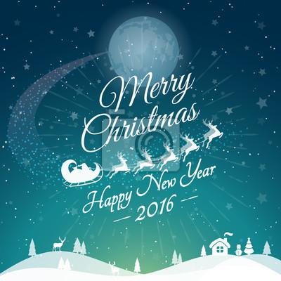 Grüße Frohe Weihnachten.Bild Gruß Frohe Weihnachten Karte Mit Rotwild