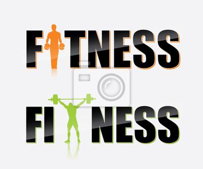 Gym Etikett - Vektor-Illustration