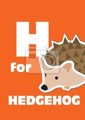 H für die Igel, ein Tier-Alphabet für Kinder