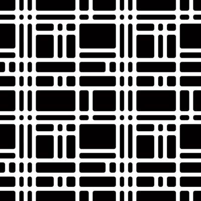 Haben Sie die Punkte sehen? Klassische optische Täuschung Muster.
