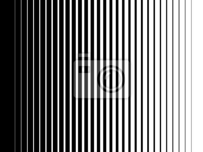 Bild Halbton-Gradientenlinien Schwarze vertikale parallele Streifen