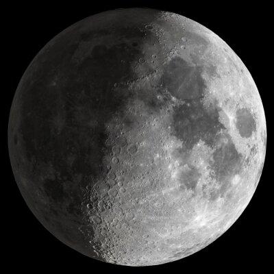 Bild Half Moon mit scharfen Details.
