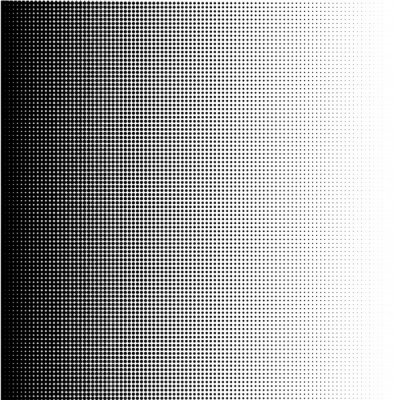 Bild Halftone dots gradient in format vector