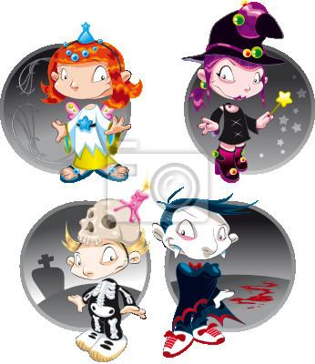 Halloween-Charaktere