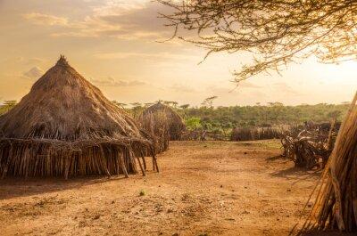 Bild Hamer village near Turmi, Ethiopia