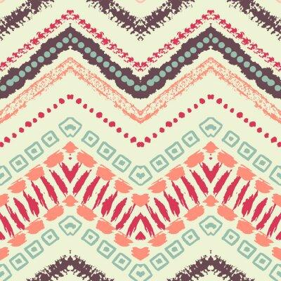 Bild Hand gezeichnet gemalt nahtlose Muster. Illustration