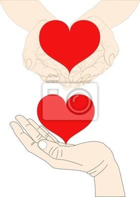 Bild Hand Herz