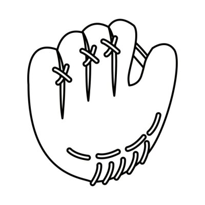 Handschuh Baseball Sport Spiel Spiel Erholung Symbol