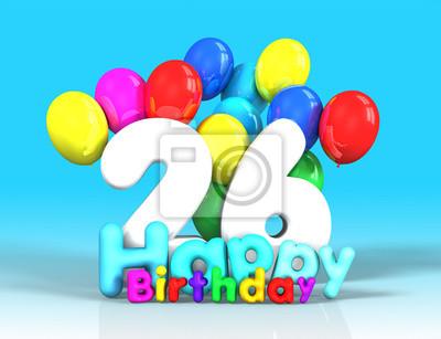 Geburtstag 26