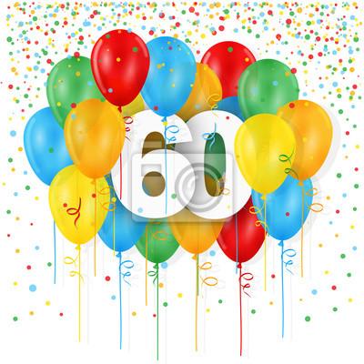 Karte 60 Geburtstag.Bild Happy 60 Geburtstag Jahrestag Karte