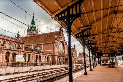 Bild Hauptbahnhof von Danzig