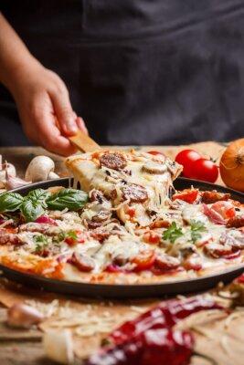 Bild Hausgemachte Pizza