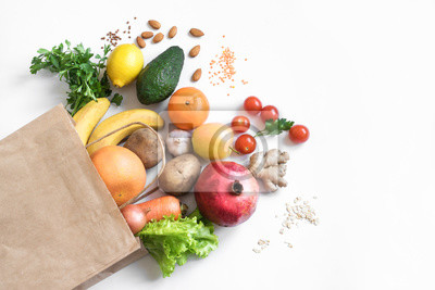 Bild Healthy food background
