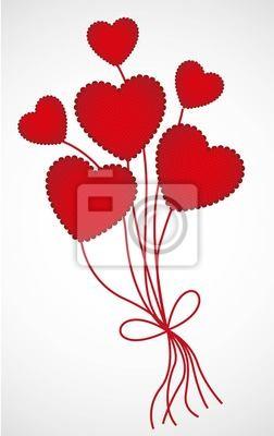 Heart-shaped Ballons