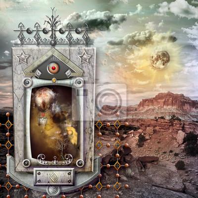 Heiligen Tempel in der Einöde