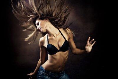 Bild heißen Tanz