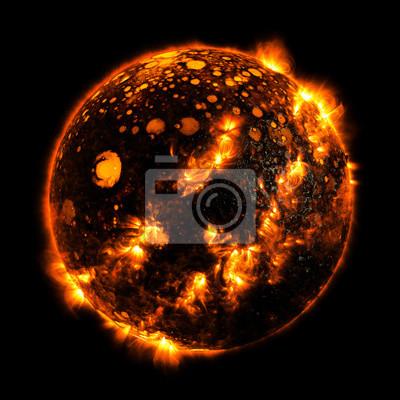 Heißer Planet Elemente dieses Bildes möbliert von Nasa