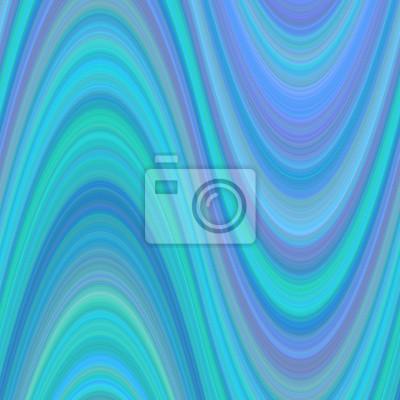 Hellblau abstrakten welligen Hintergrund aus dünnen geschwungenen Linien - Vektor-Grafik