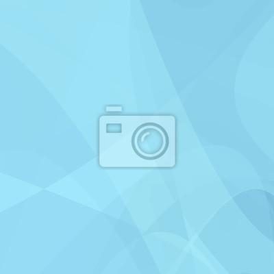 Hellblauer gebogener abstrakter Hintergrund - Vektordesign