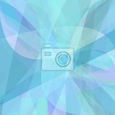 Hellblauer Hintergrund aus dynamischen Kurven