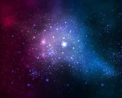Bild Helle flockige Galaxie
