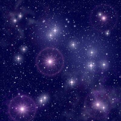 Bild Helle Sterne im Weltraum